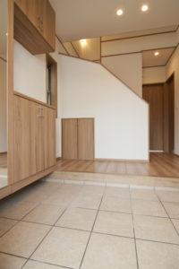 奈良市N様邸玄関ホール